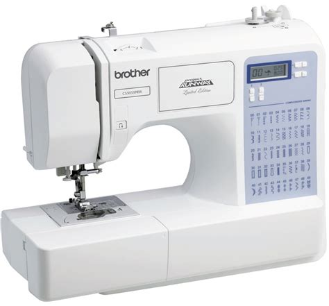 Upholstery Sewing Needles Brother Cs 5055prw Project Runway Computer Sewing Machine
