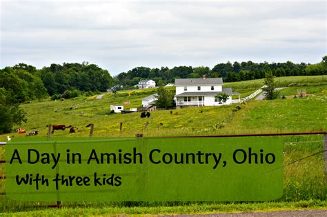 dutch country one day itinerary for ohio amish country with kids