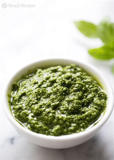 fresh basil pesto recipe simplyrecipes com