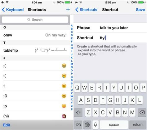 iphone keyboard shortcuts top iphone and keyboard and tricks