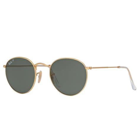 Sunglasses Rayban Metal polarized ban metal sunglasses matte gold rb3447