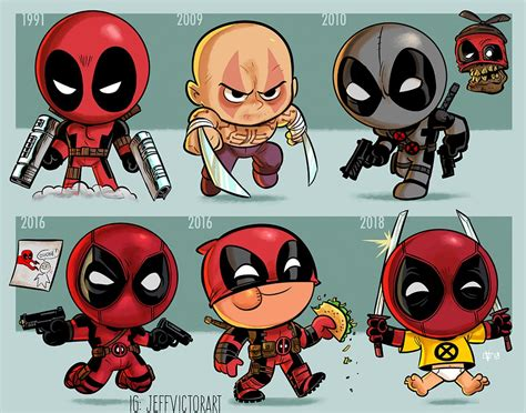 art jeff victor evolution deadpool