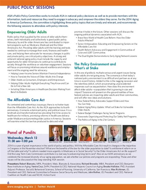 Mba Conference San Diego 2014 by 2014 Annual Conference Of The American Society On Aging