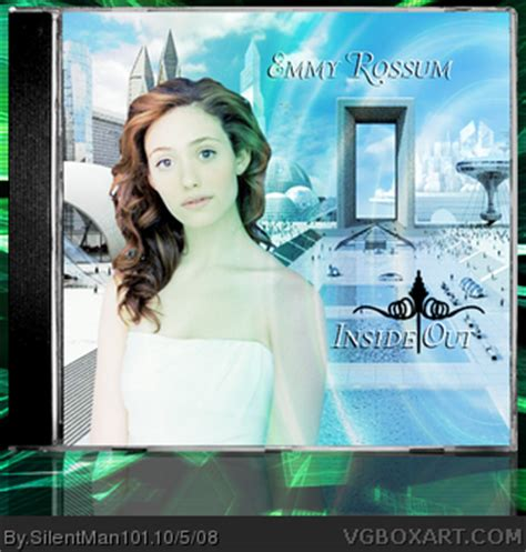 emmy rossum music cd emmy rossum inside out music box art cover by silentman101