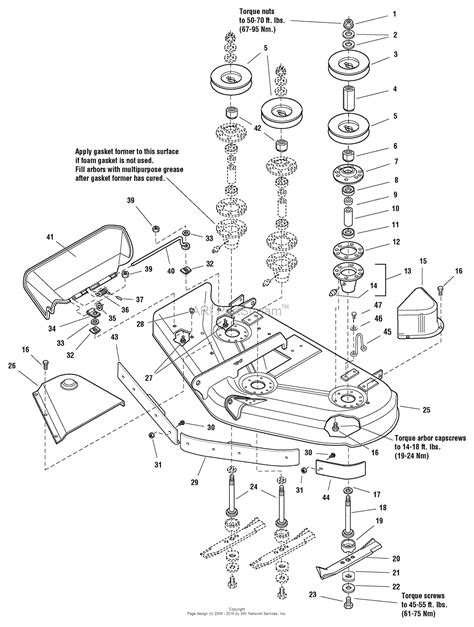simplicity parts diagram simplicity 1693971 conquest 18hp hydro and 50 quot mower