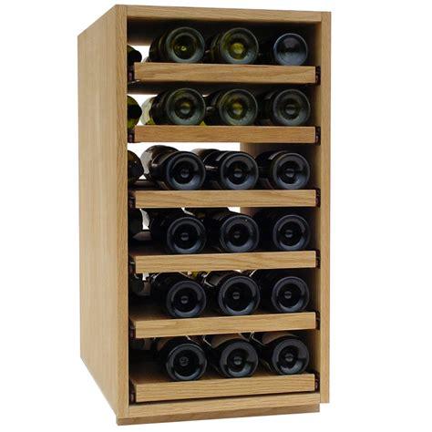 Wine Rack Uk by 36 Bottle Showcase Pull Out Wooden Wine Rack Wine Racks