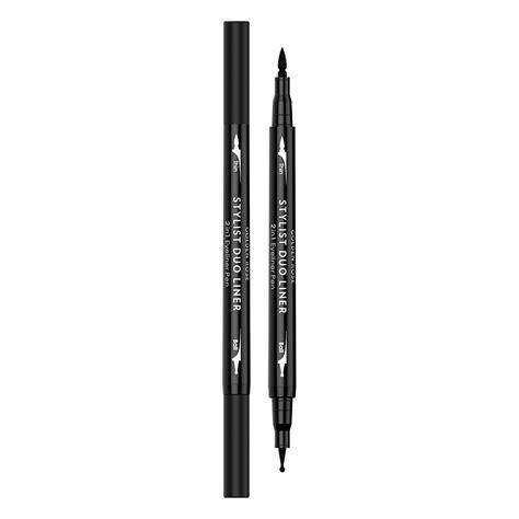 Kleancolor Duo Eyeliner 2 In 1 Waterproof Eyeliner Pencil Gel Makeup golden gt gt eyeliner gt stylist duo liner 2 in 1 eyeliner pen