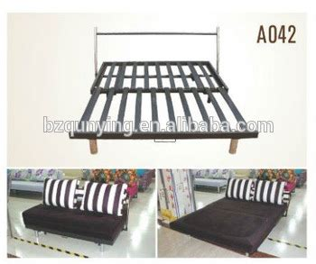 folding steel sofa set practical metal plank fold out sofa bed frame with