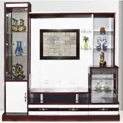 Cabinet Making Service Modern Wood Wall Panel With Lcd Unit 9906 Home Furniture