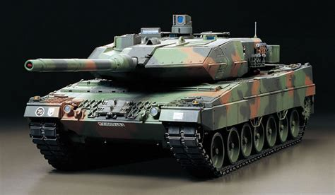 Mbt Lighting by 1 16 Rc Leopard 2 A6 Full Operation Kit Banzai Hobby