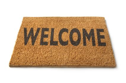 welcome mat welcome mat