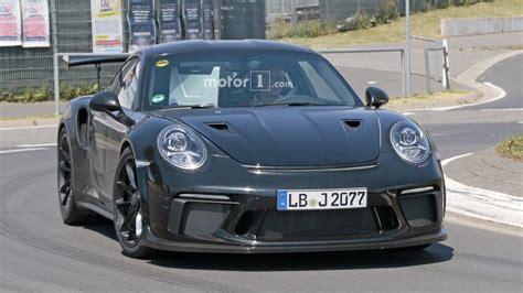 porsche 911 gt3r photos espion la future porsche 911 gt3 rs au