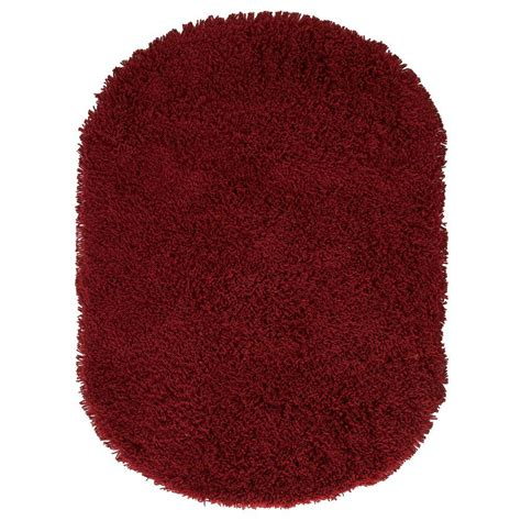 oval shag rug home decorators collection ultimate shag 5 ft x 7 ft oval area rug 2987890110 the home depot