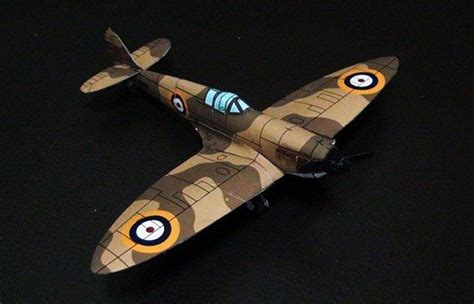 How To Make A Paper Spitfire - papercraftsquare new paper craft wwii spitfire mk i