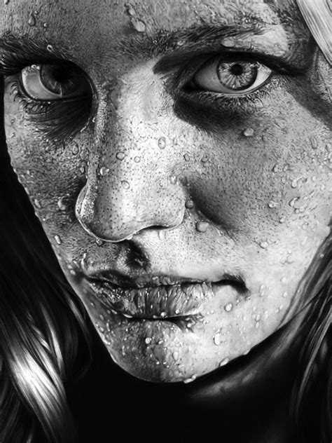 Drawing Realistic Faces by A Showcase Of Amazing Photo Realistic Pencil Drawings