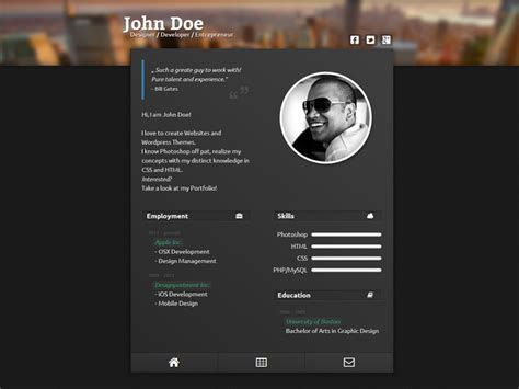 vcard templates free vcard template webdesigner lab