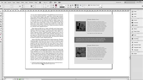 indesign book templates indesign book template aldora