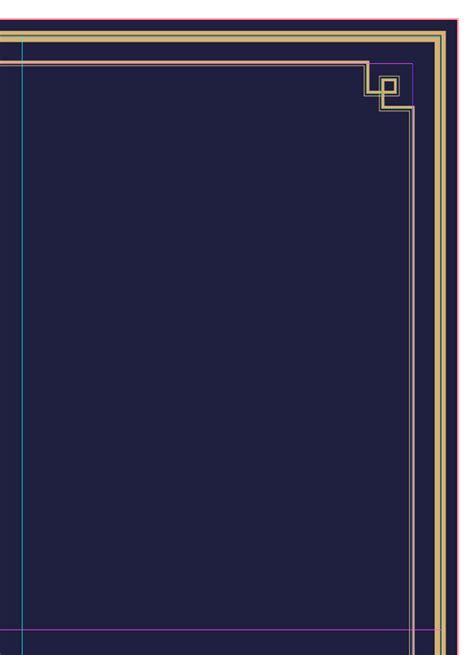 photoshop horizontal layout design a glamorous art deco menu in adobe indesign