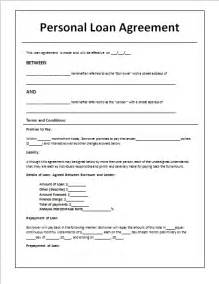 family loan agreement template template idea