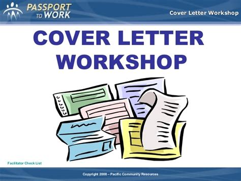 Motivation Letter Sle For Workshop Cover Letter Workshop