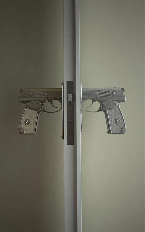 Awesome Door Knobs by Unique Door Knobs 1 Pistol For The Home