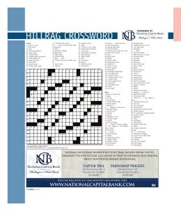 Rider Mba Bank Of America by Crossword Puzzle 2 Answers Across