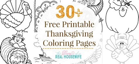 thanksgiving coloring pages  diary   real housewife