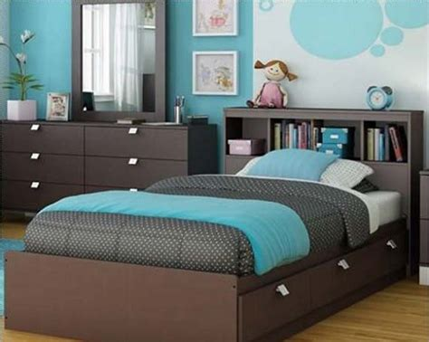 blue and brown rooms blue and brown bedroom ideas for teenage home interiors