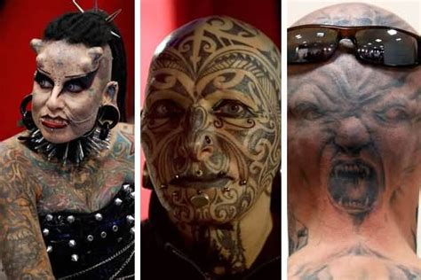 tattoo extreme pictures amazing extreme tattoos