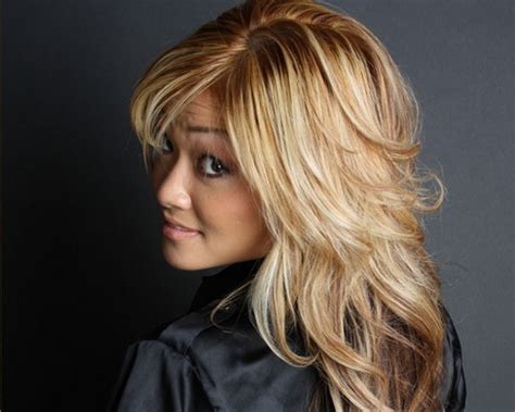 defined layered hairstyles long layered haircuts for fine hair