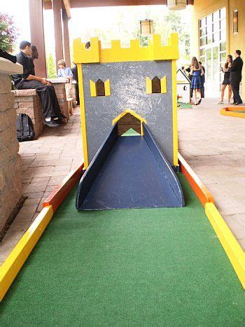 diy mini golf obstacles  servers  apis