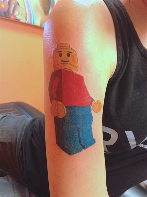 tattoo 3d lego lego men best tattoo design ideas