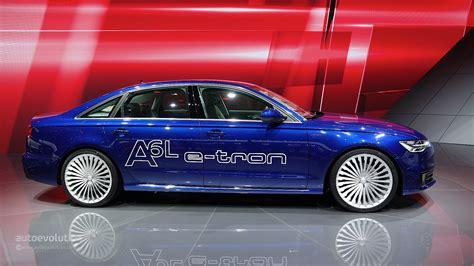 Audi A6 E Tron by Audi A6 L E Tron Plug In Hybrid Debuts At Auto Shanghai