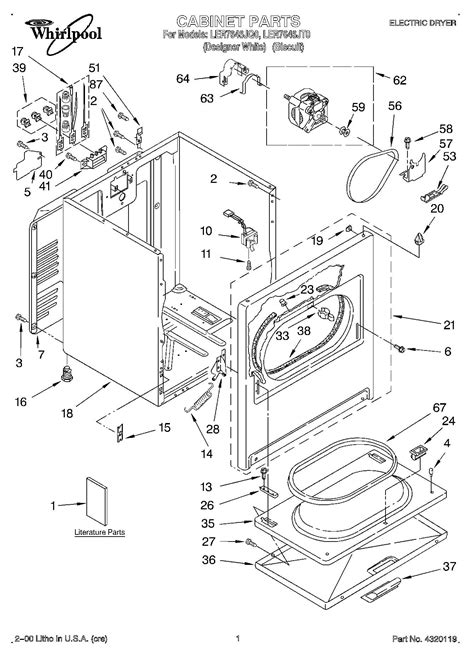 whirlpool gas dryer wiring diagram whirlpool dryer