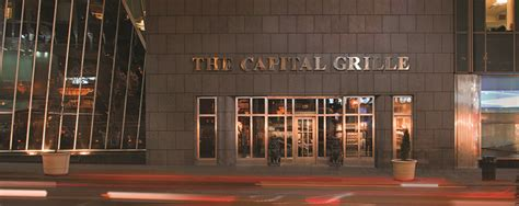capital grille chrysler building about us the experience the capital grille restaurant
