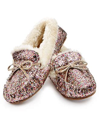 slippers international inc website iris gifts for i n c sequined slippers created for macy