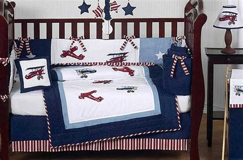 aviator crib bedding aviator crib bedding set by sweet jojo designs 9 piece