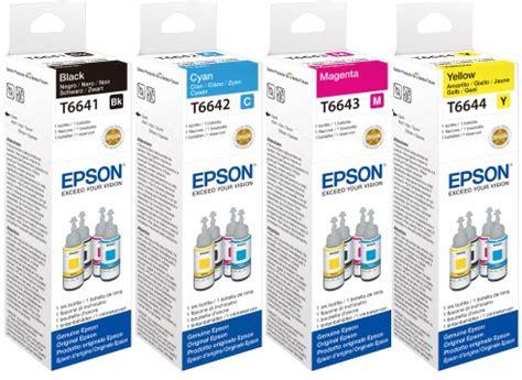Toner Epson T6641 original epson ecotank refill bottle of black ink cheap