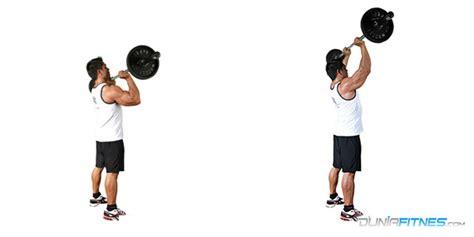 Barbell Tangan Cara Membangun Massa Otot Hanya Bermodal Barbell