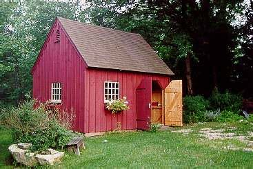 garden sheds style post  beam carriage houses
