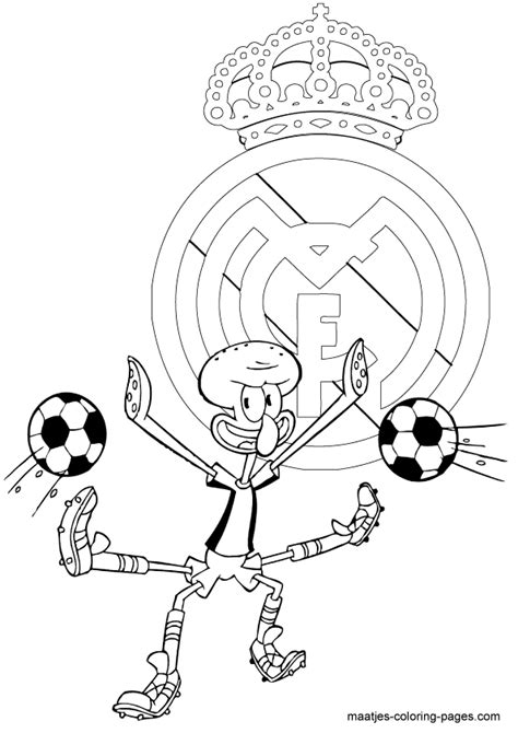 real madrid soccer coloring pages coloring pages