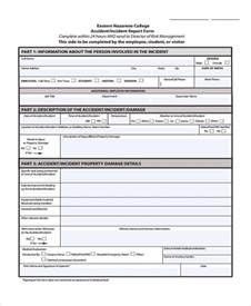 Fire Incident Report Template doc 700906 fire incident report fire incident report