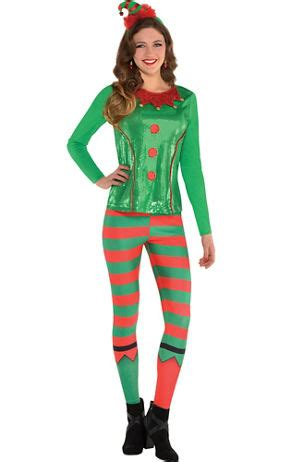 adult elf tights party city