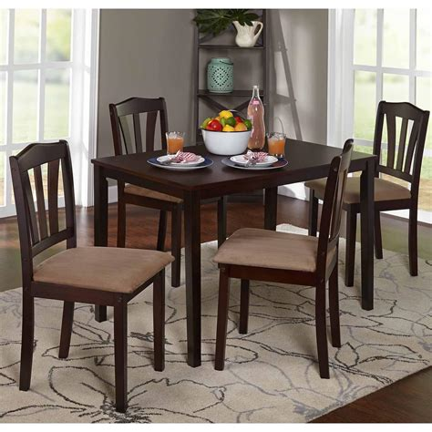 metropolitan 6 piece dining set with bench espresso kitchen metropolitan 5 piece dining set espresso dining