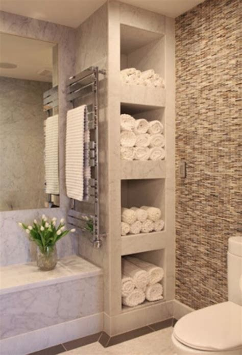 Bathroom Shelving Ideas For Towels | organizing and storing bathroom towels 3 ways and 18