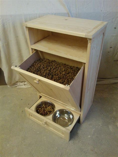 feeding station cabinet and cat pet feeding station furniture things for the