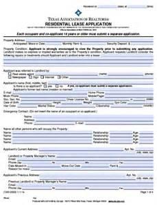 free texas rental application pdf word doc
