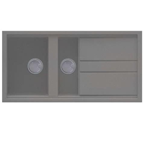 Kitchen Sink Titanium Titanium Kitchen Sink Crizto Titanium C Sink Tap With L Swivel Spout Italian Granite