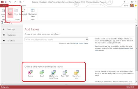 create a new desktop database from the time card template moving data forward into access 2013 microsoft 365