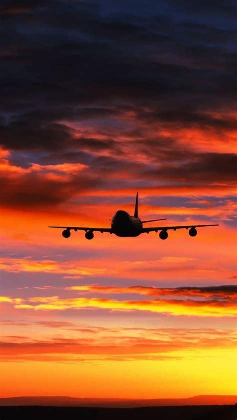 airplane hd wallpaper iphone aircraft civilian   airplane wallpaper orange wallpaper